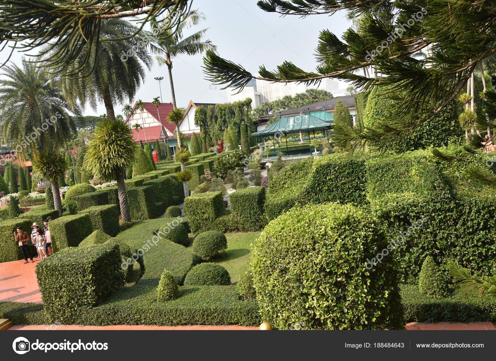 Nong Nooch Tropical Botanical Garden, Pattaya City, Thailand — Stock Photo