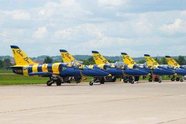 Planes of the latvian aerobatic team