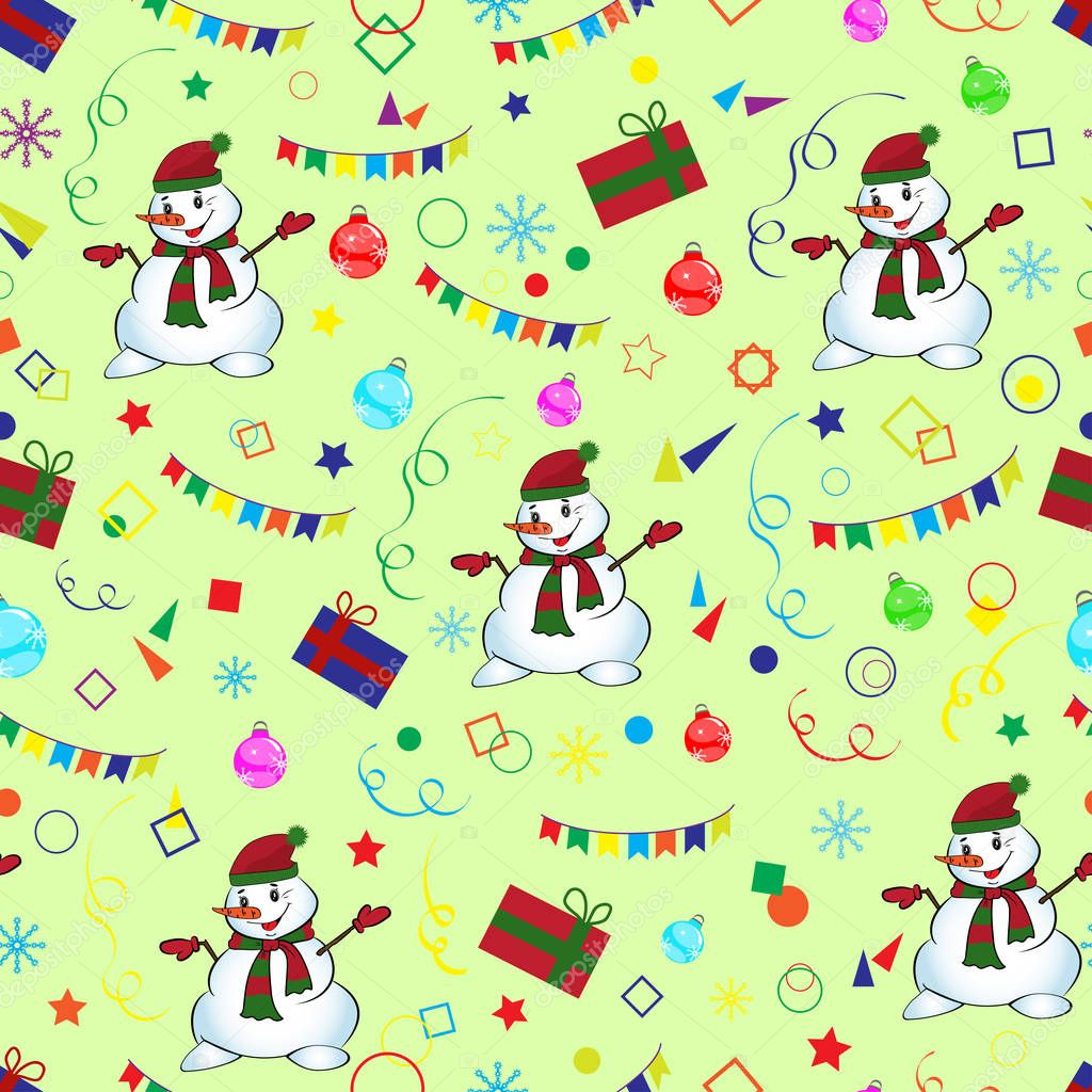 for web page background wallpaper wrapping paper pattern fills christmas and new year greeting cards vector illustration vector by nataliakarebina
