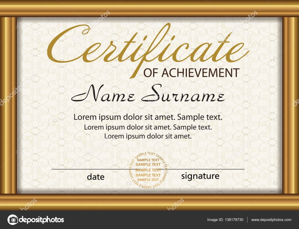 Certificate winner free templates for funeral programs certificate or diploma template award winner reward winning the depositphotos 138178730 stock illustration certificate or diploma xflitez Choice Image