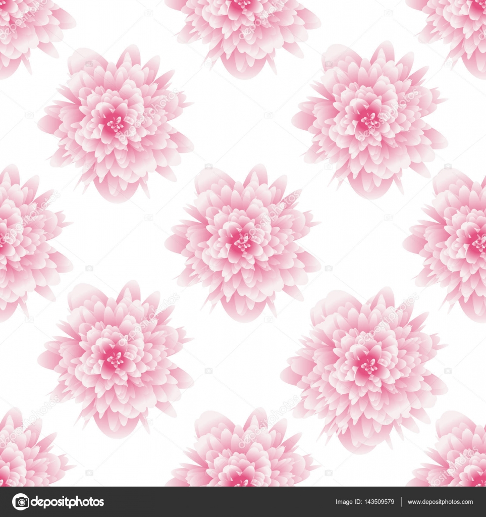 Seamless Pattern Flower Background For Fabrics Textiles Paper