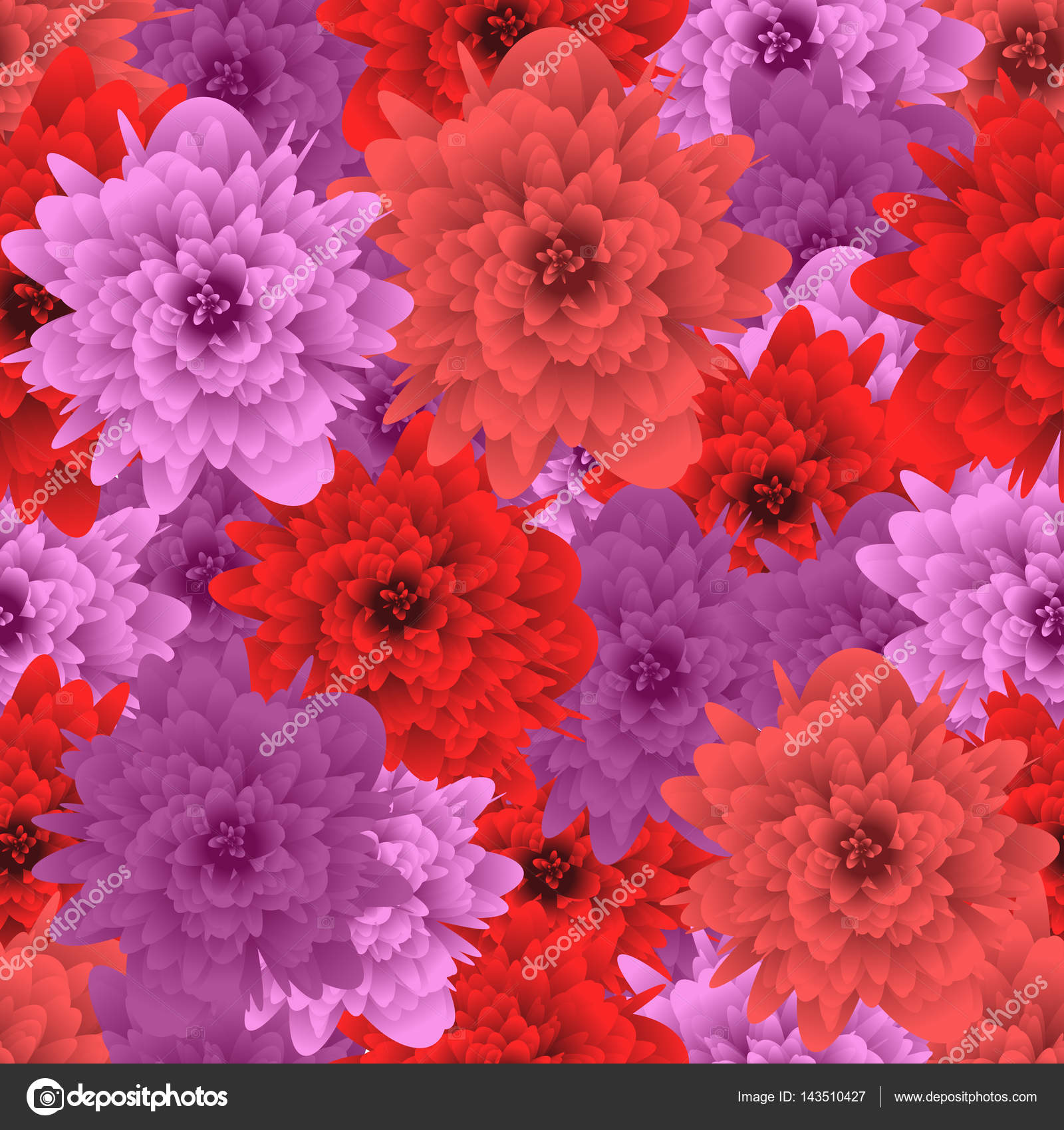 Seamless pattern flower. Background for fabrics, textiles, paper ...