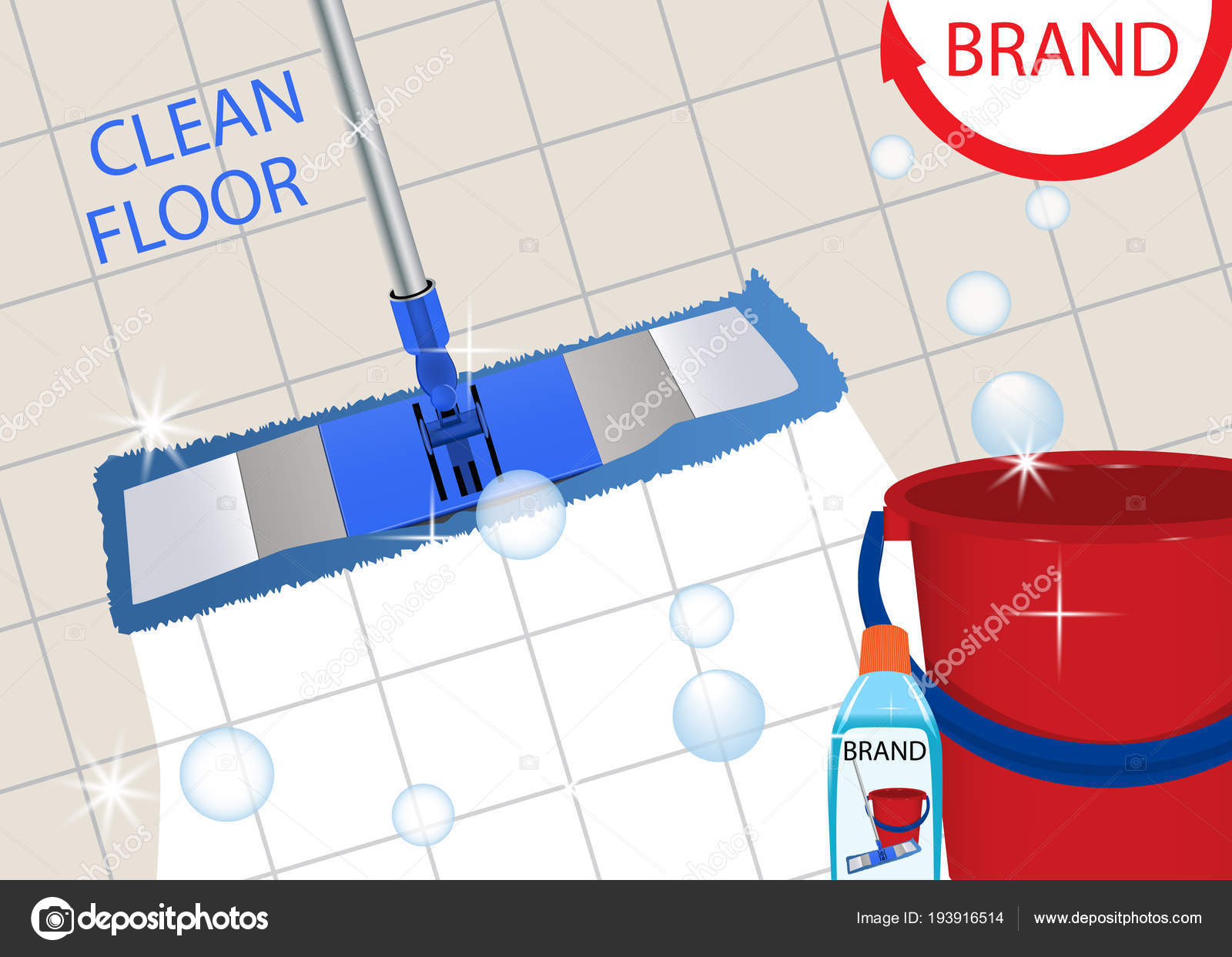 Mop Cleaning Clean Tile Floor Shiny Disinfectant Cleaner For - Best way to clean shiny tile floors