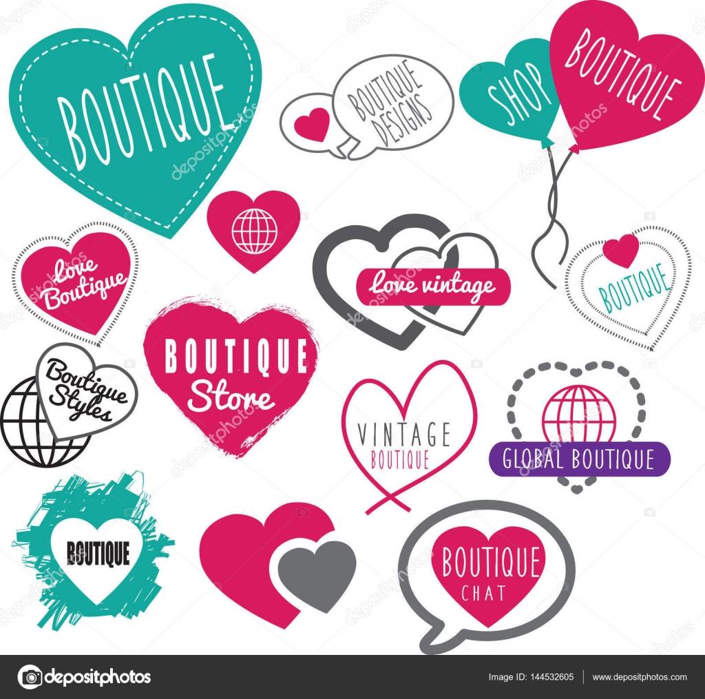 various colors 2778c a712a Online boutique logo ideas | Boutique high street shop or ...