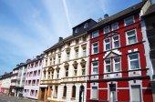 alte häuser in essen, deutschland