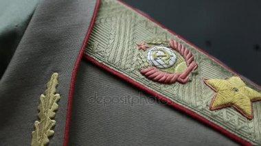 Old military uniform