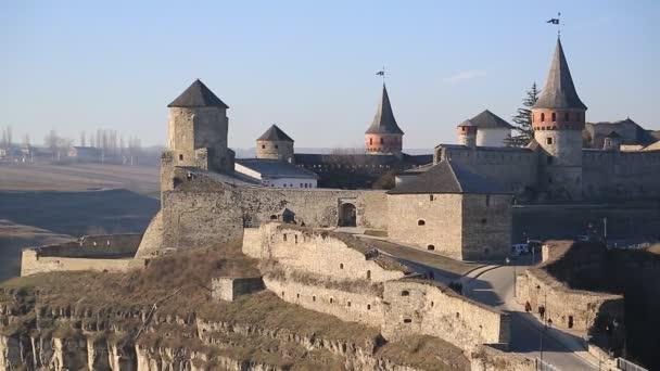 kő vár a város Kamianets-Podilskyi