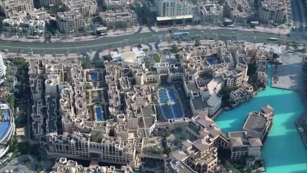 Jezero Burj Khalifa a Dubai centrum