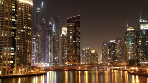 4K Fantastic Night Dubai Marina
