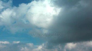 4k Timelapse bouřkové mraky