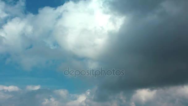 4k Zeitraffer von Gewitterwolken