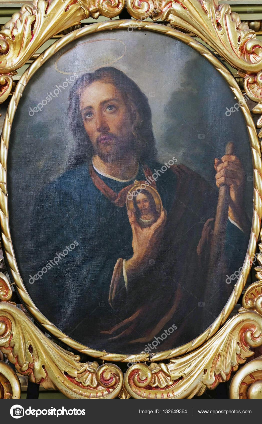 Vector San Judas Tadeo San Judas Tadeo Foto Editorial De Stock