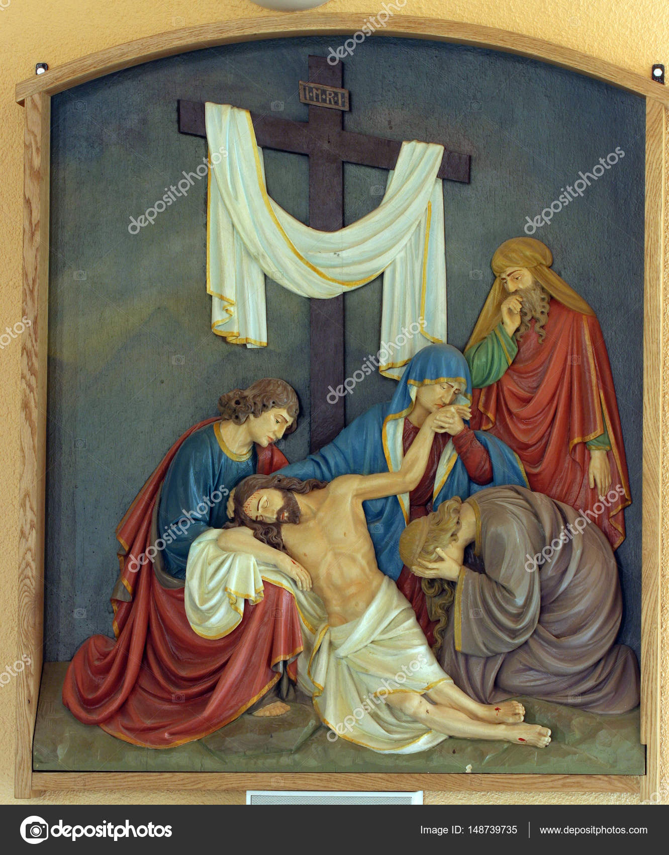 new arrivals footwear reliable quality 13th Stations of the Cross, Jesus' body is removed from the ...