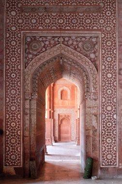 Jama Masjid Mosque in Fatehpur Sikri complex, Uttar Pradesh, India.