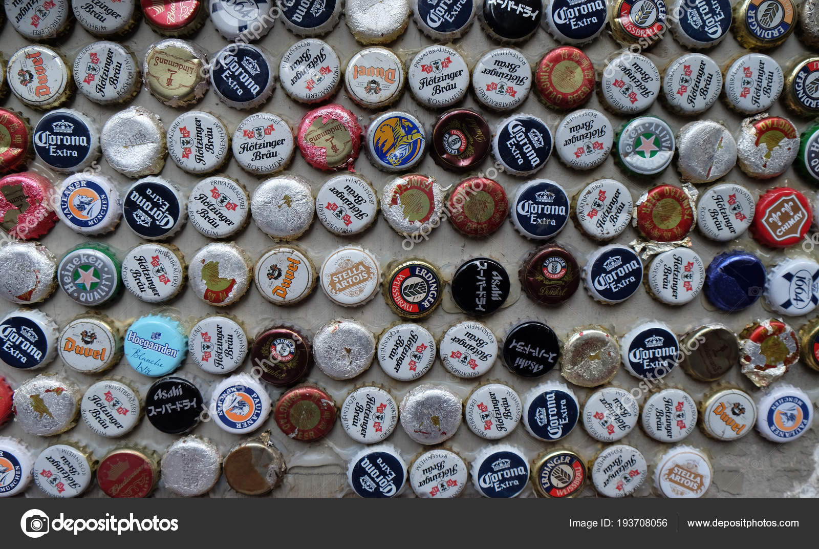 Beer Bottle Caps Collection Beer Sales China Rose Percent