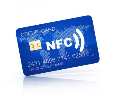 Credit card and NFC