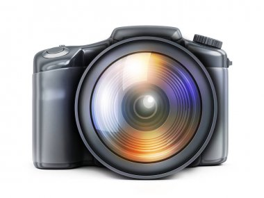 photocamera view front