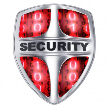 Shield security red