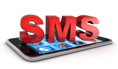 Telephone and Abstract SMS