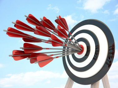 Target and many arrow