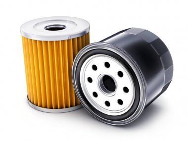 Two car oil filter