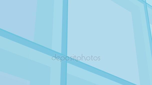 Čtverce modré abstraktní animace