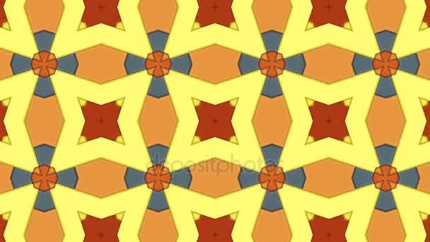 Animált Kaleidoszkóp minta hurkolás nélkül