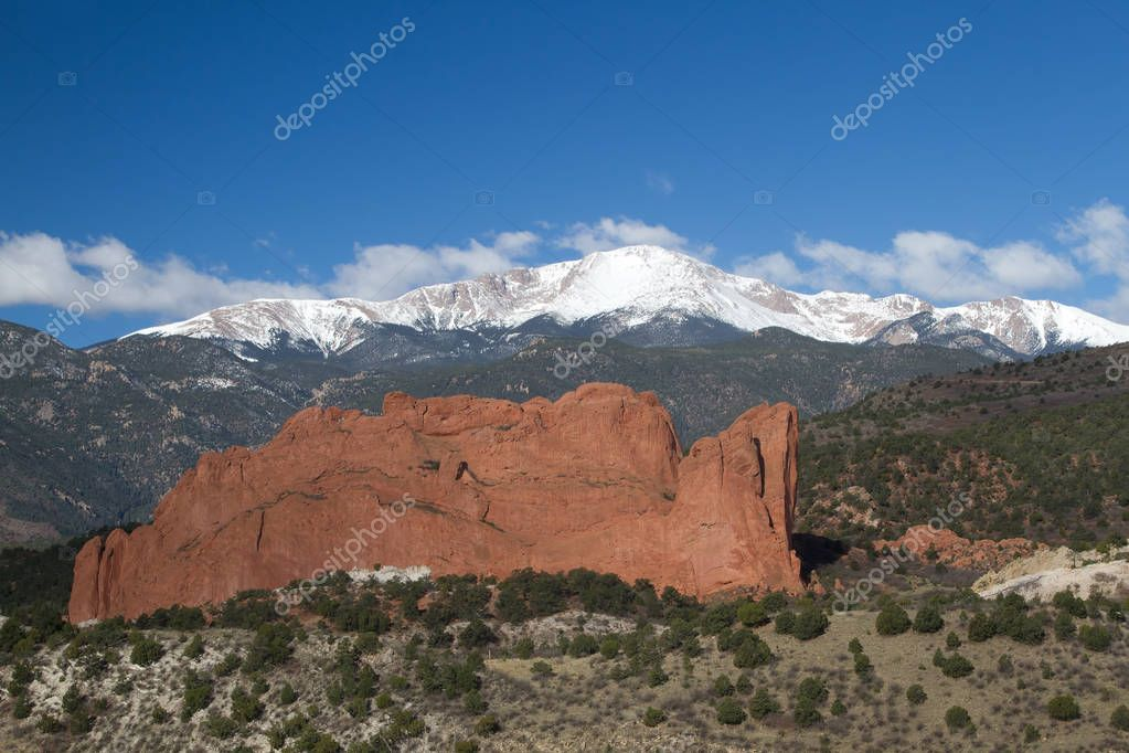 Blue Skies over Garden of the Gods