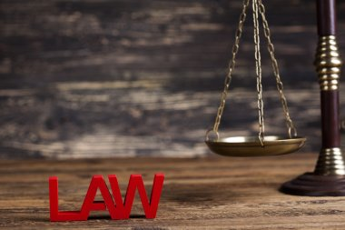 Justice concept and legal system