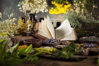 healing herbs, Natural medicine