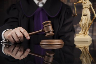 Justice and law concept