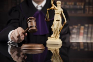 Justice and law concept.