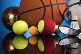 Fényképek Sport labdák berendezéssel