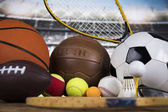 Fotografie Sport Equipment, Soccer,Tennis,Basketball