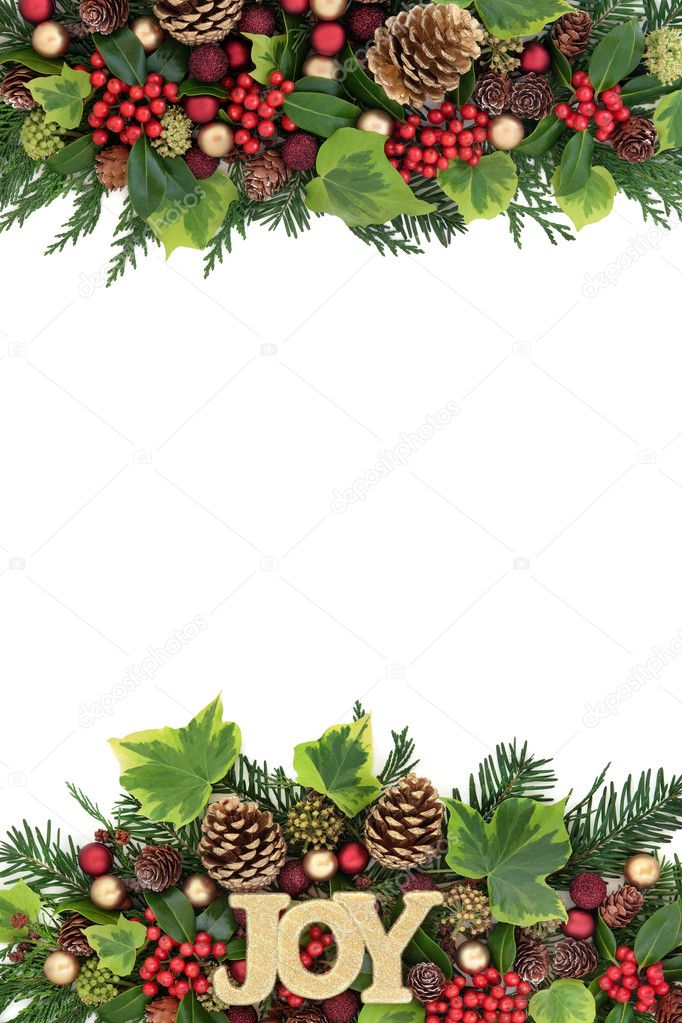 Image Bordure Noel.Bordure Decorative De Noel Joie Photographie Marilyna