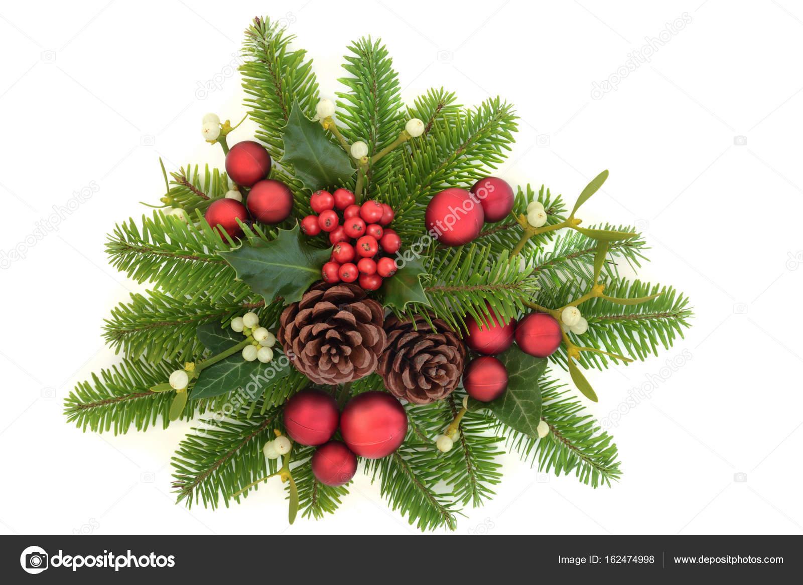 Christmas Greenery Images.Decorative Christmas Greenery Stock Photo C Marilyna