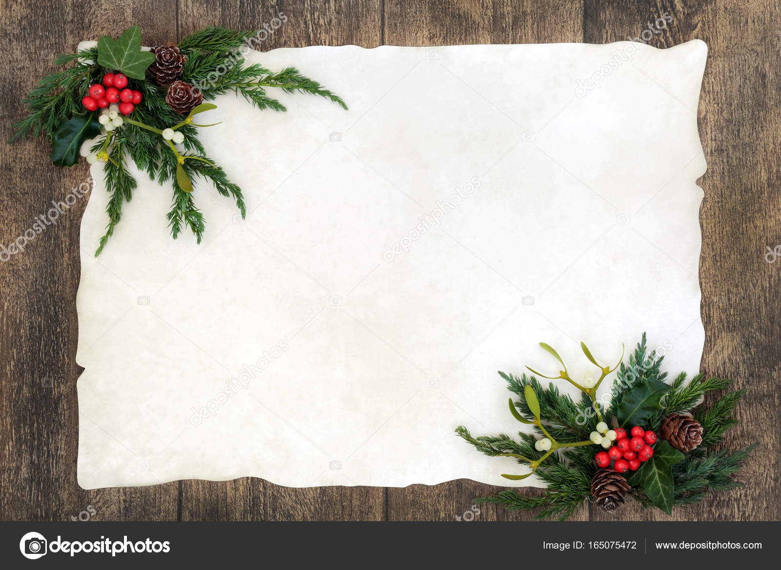 Old Fashioned Christmas Pictures.Old Fashioned Christmas Border Stock Photo C Marilyna