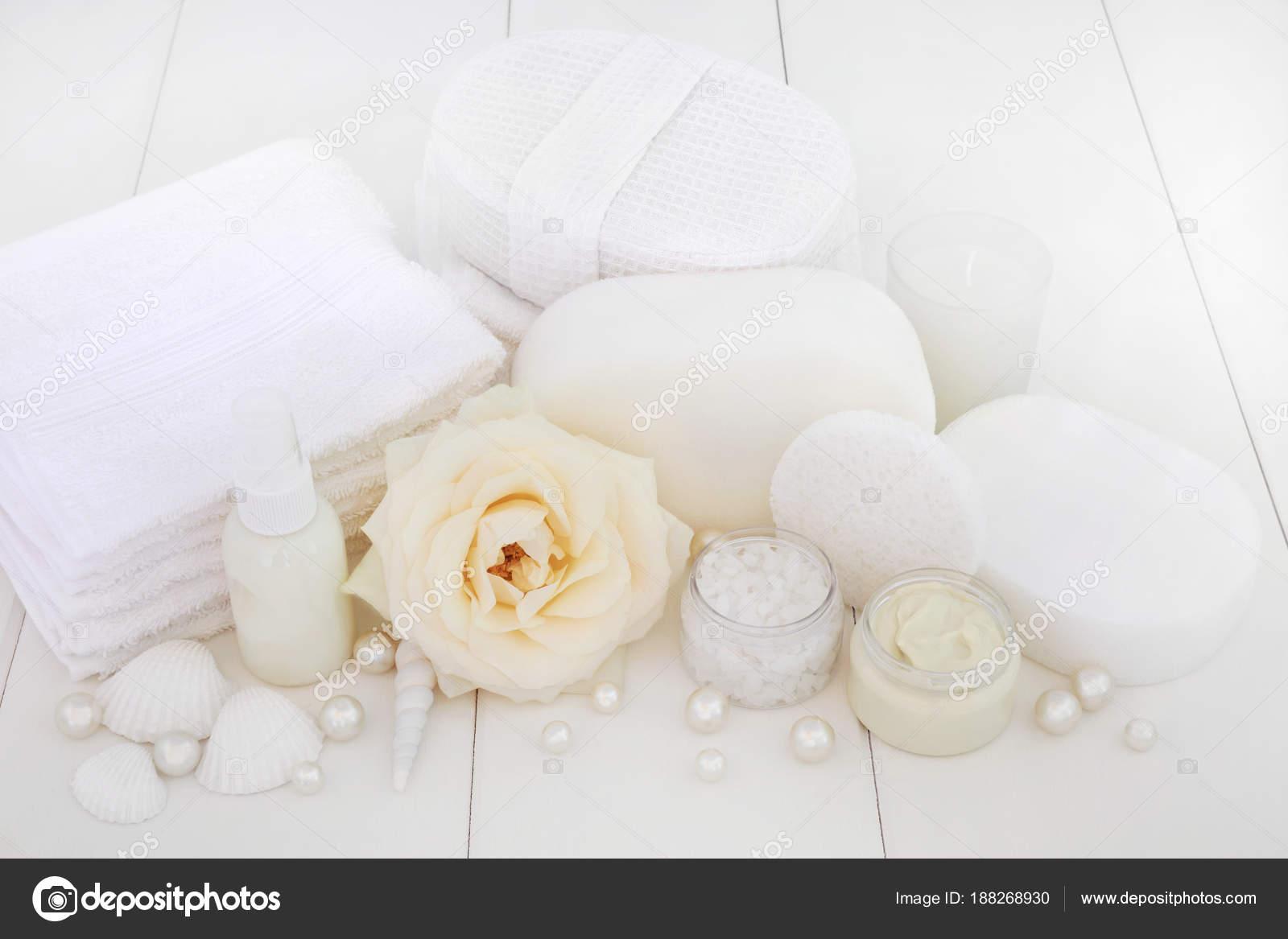 Spa Beauty Treatment Products Rose Foliating Salt Moisturising Cream