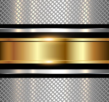 Background metallic shiny