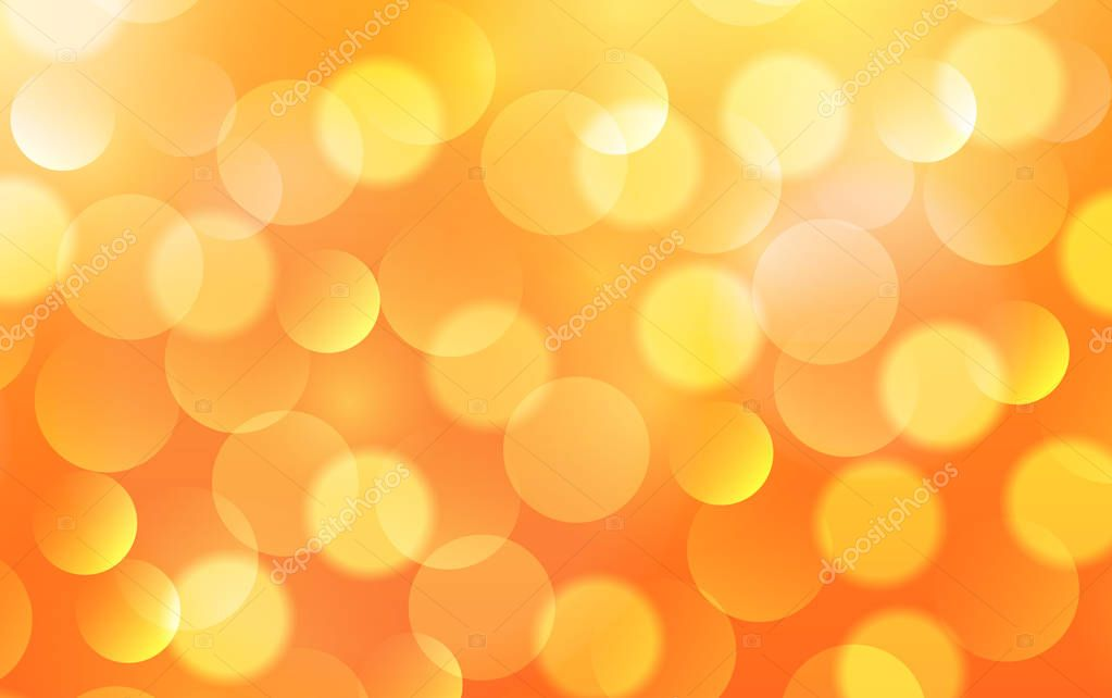Orange lights background