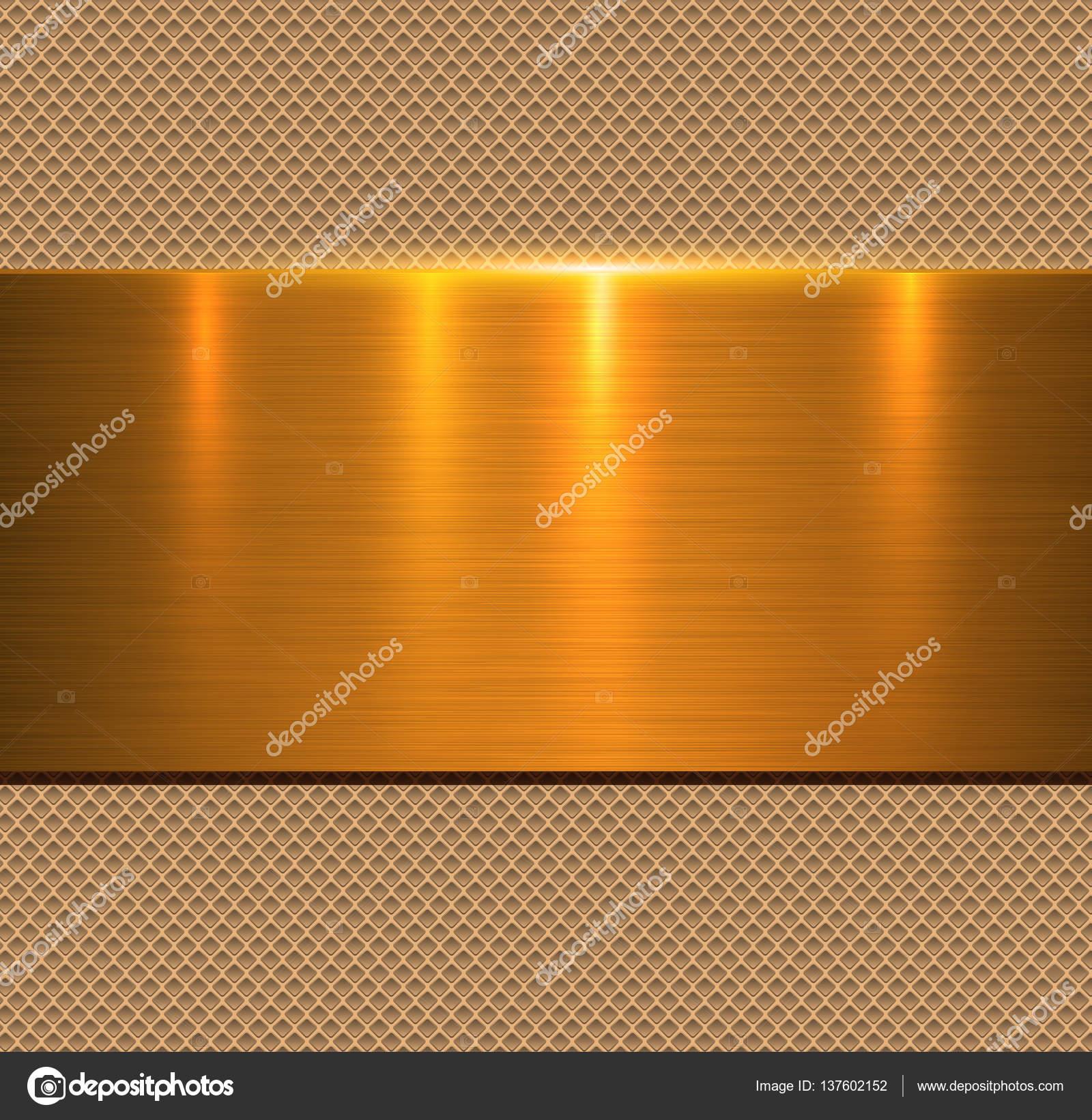background gold metal texture � stock vector 169 cobalt88