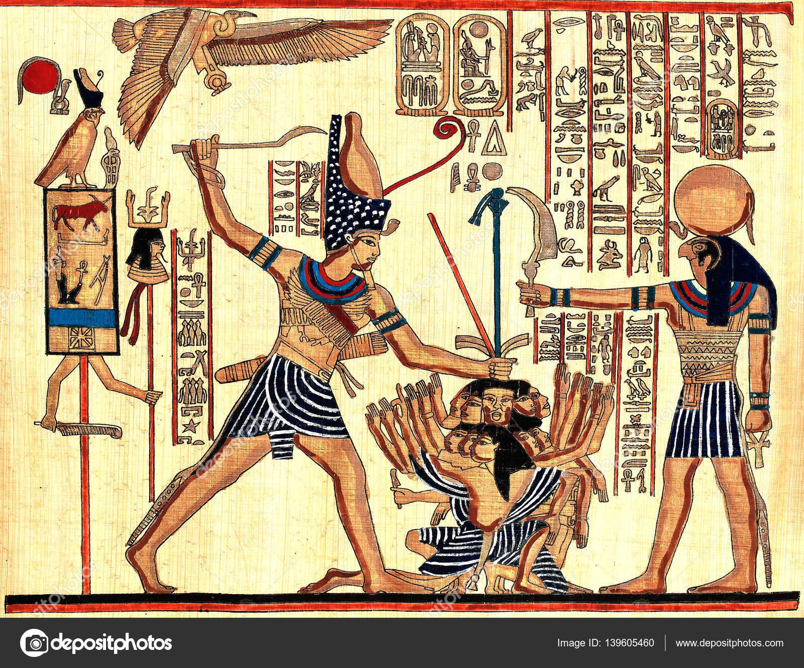 Foto de papiros egipcios — Foto de stock © cobalt88 #139605460