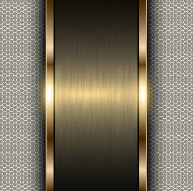 metal gold background