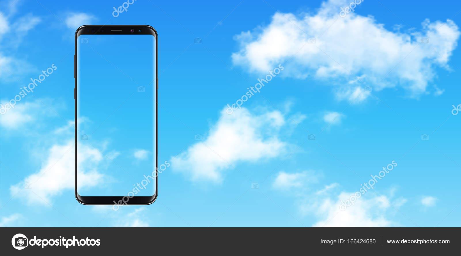 Illustrazione Sfondi Di Nuvole Per Cellulare Smartphone