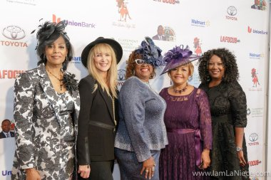 Lisa Collins,Marguerite Reeve,Judi Wortham-Sauls, Ranza Trotter,Linda G.Hodge at The 19TH Annual First Ladies High Tea 10-22-16 at the Beverly Hilton Hotel in Beverly Hills, CA