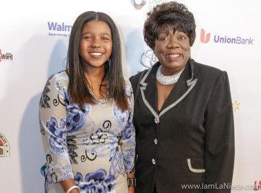 Nails Walker,Evelyn Perkins at The 19TH Annual First Ladies High Tea 10-22-16 at the Beverly Hilton Hotel in Beverly Hills, CA