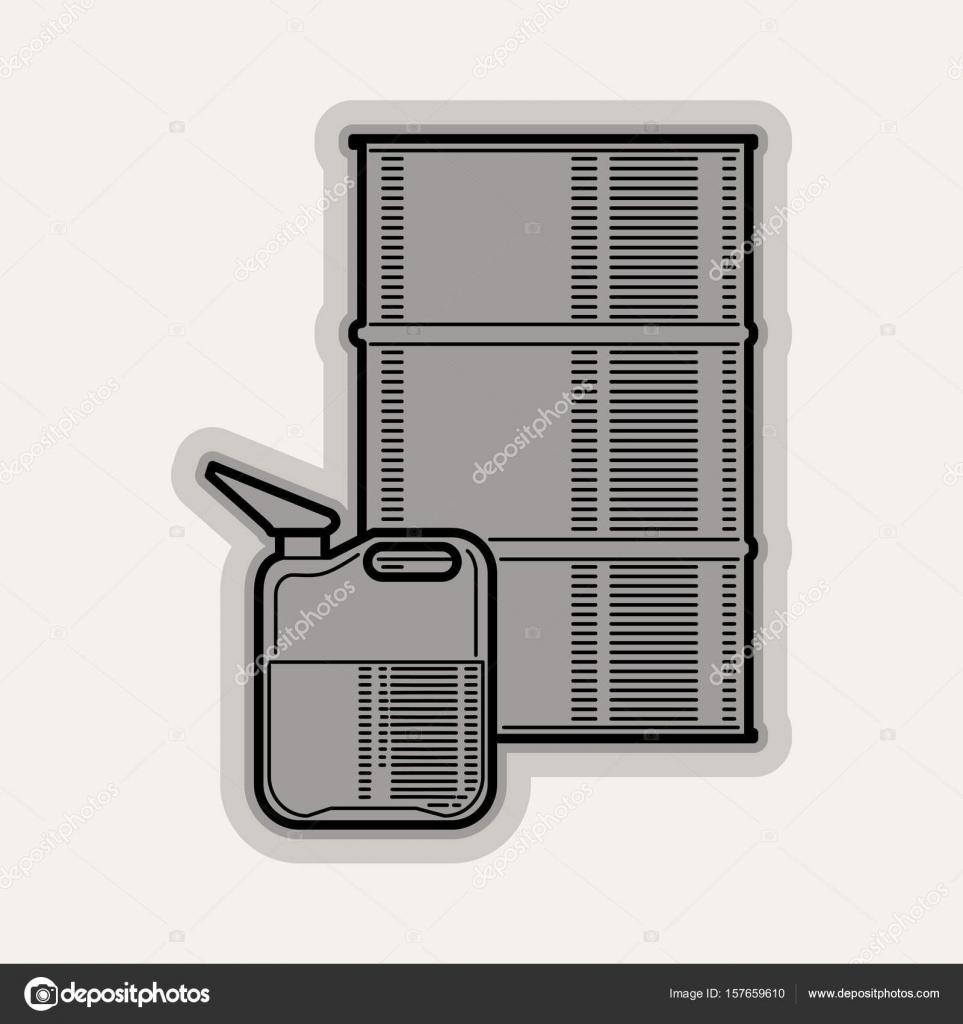 Linie flach Vektor Icon Autoteile — Stockvektor © sanyal #157659610