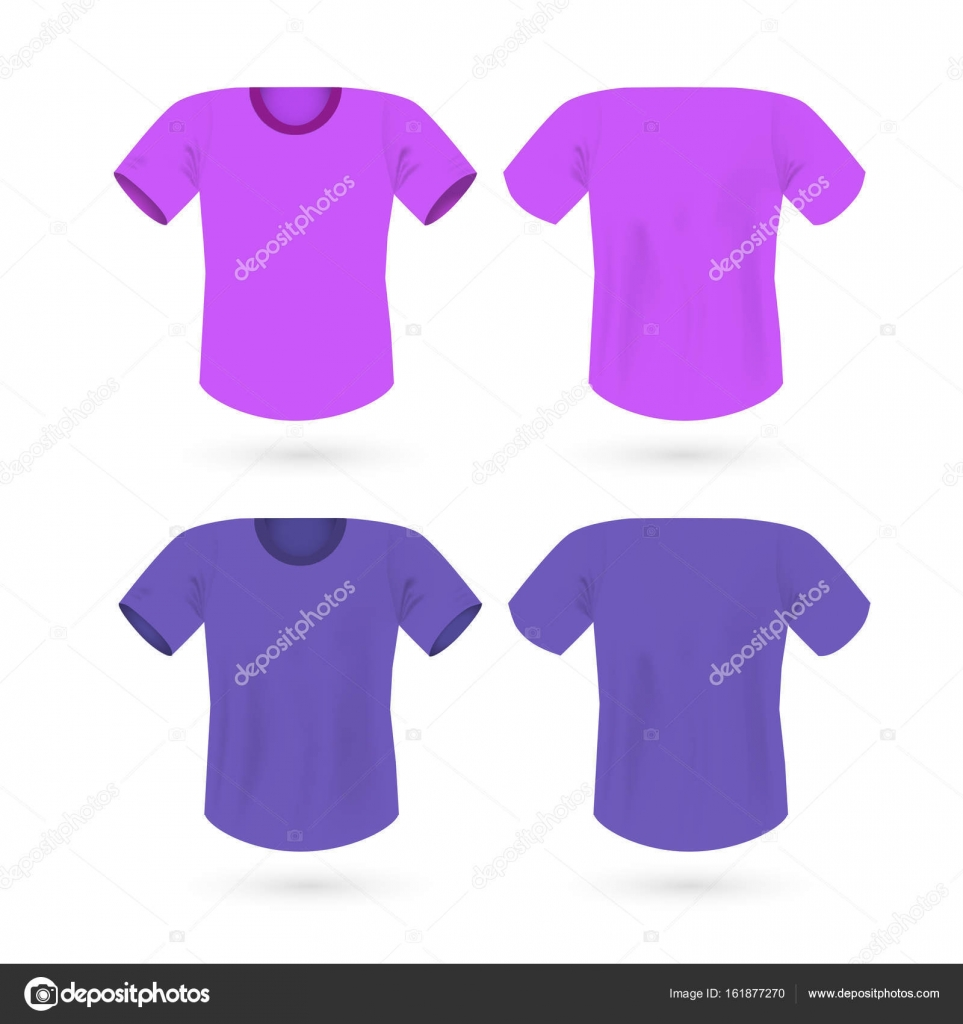vector T-shirt template color vector eps 10 — Stock Vector ...