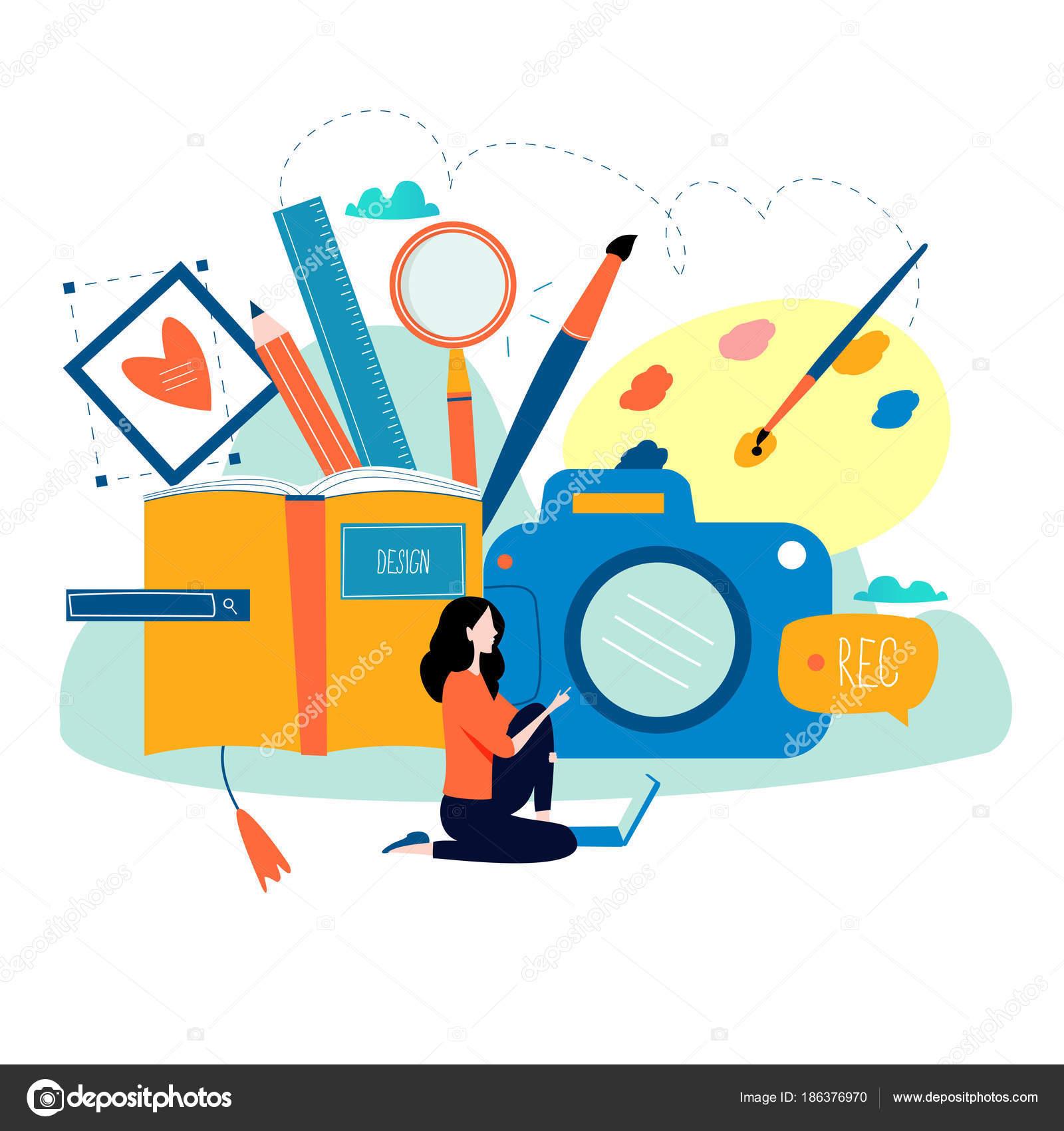 Design Studio Entwerfen Zeichnen Fotografieren Grafik Design Bildung