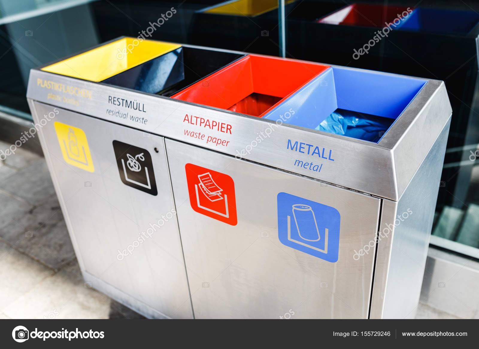 behälter aus papier